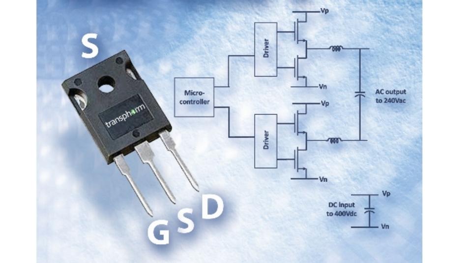 Der TPH3205WS verfügt über einen On-Widerstand von 63 mOhm, die maximale Strombelastbarkeit liegt bei 34 A.