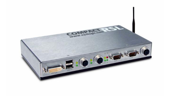 Kompakt und EN50155 zertifiziert: der neue »Railway Computer RSL Compact 8« von Syslogic