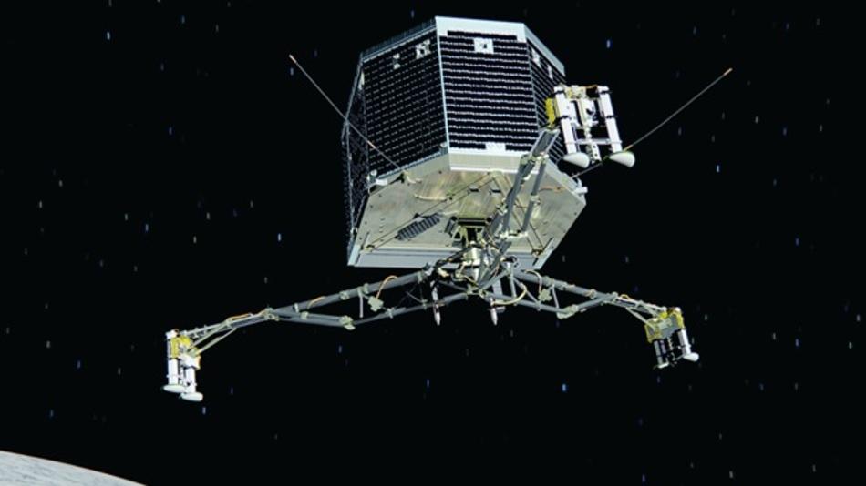 Die Rosetta-Landeeinheit Philae.