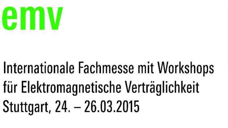 Treffpunkt für die EMV-Branche: die »EMV 2015« in Stuttgart
