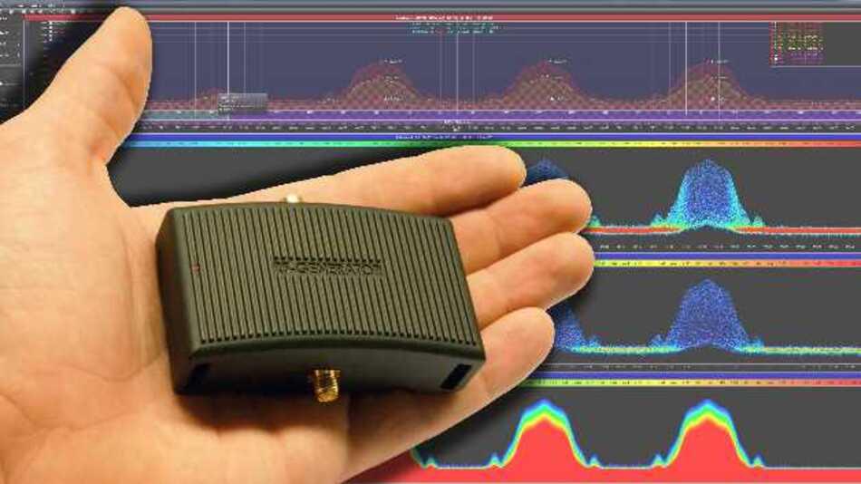 Fernsteuerbar per USB oder Standalone mittels Batteriebetrieb lässt sich der handliche HF-Signalgenerator BPSG von Aaronia betreiben