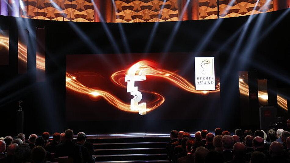 Am Vorabend der Hannover Messe wird in feierlicher Atmosphäre der diesjährige Hermes Award verliehen.