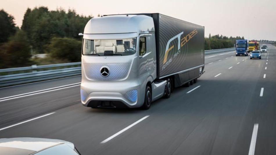 Mercedes Future Truck 2015