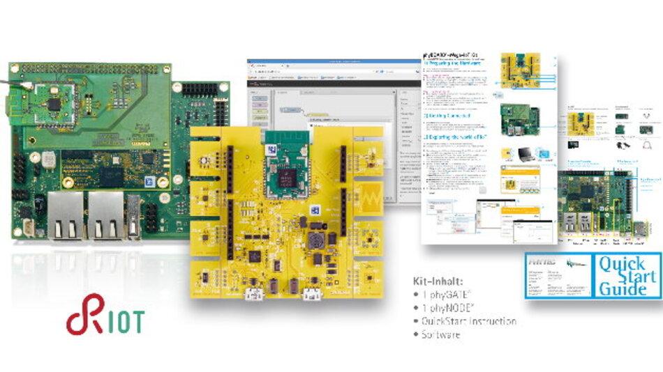 Phytec will mit seinem IoT-Kit die Vernetzung auf Sensor/Aktor-Ebene vereinfachen.