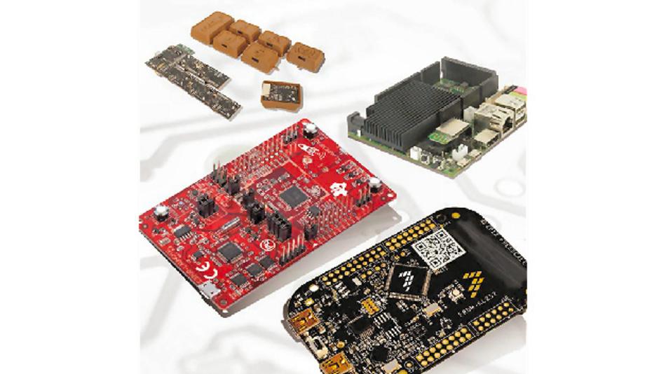 Breite Palette von Kits und Tools von führenden Halbleiterherstellern