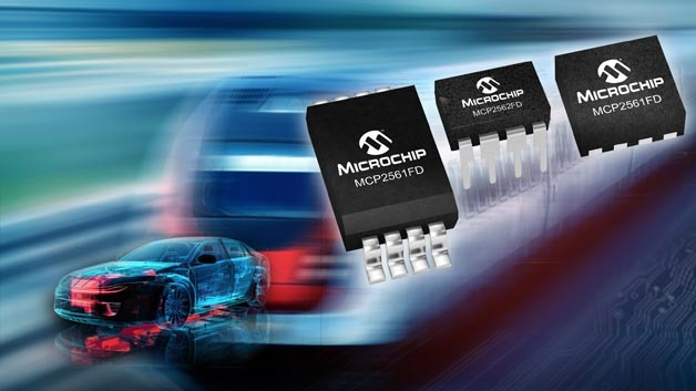 Die CAN-FD-Transceiver MCP2561FD und 2FD aus dem Hause Microchip