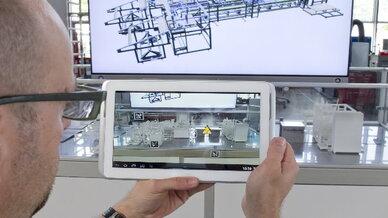 Das Klemmbrett hat ausgedient: Ein mobiles Assistenzsystem erleichtert die Inspektion von Industrieanlagen