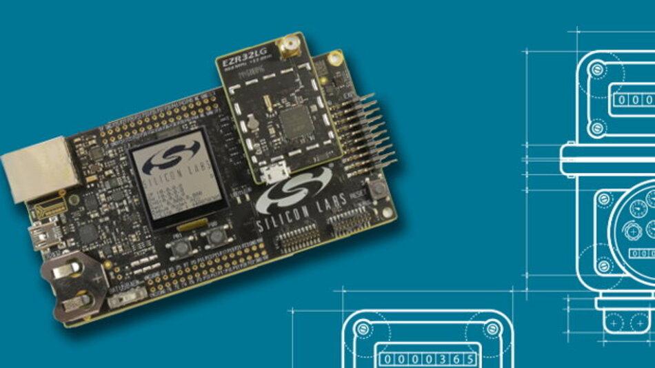 Die Wireless M-Bus-Plattform von Silicon Labs ist modular und skalierbar, auf hohe Funkleistung, geringen Stromverbrauch und geringen Speicherplatzbedarf ausgelegt