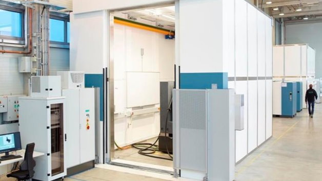 In den beiden neuen Strahlenschutzbunker sollen künftig neue industrielle Computertomografie-Systeme für die zerstörungsfreie Materialprüfung entwickelt werden.