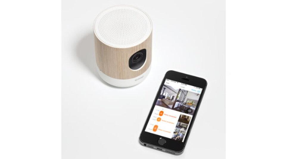 Das Heimüberwachungssystem von Withings überwacht mit Hilfe eines Gassensors die Luftqualität in Räumen und warnt, falls Schwellenwerte überschritten werden.