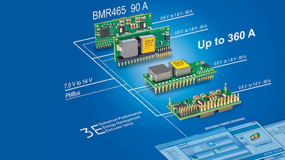 Das BMR465 steht in zwei mechanischen Ausführungen mit entsprechenden System-in-Package-Abmessungen (SiP) zur Verfügung.
