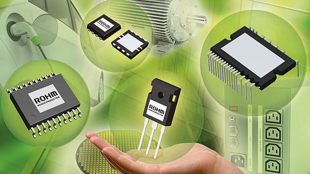 »Value add in power« ist das Motto von Rohm Semiconductor auf der diesjährigen PCIM.