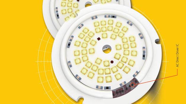 LED-Schaltungen mit AC-Ansteuerung: Direkt und flimmerfrei mit 230 V ...