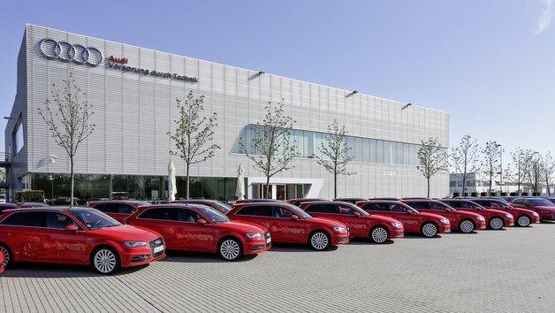Die neuen Fahrzeuge für das Förderprogramm Schaufenster Elektromobilität.