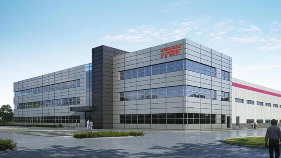 In Zhangjiagang beginnt TRW noch in diesem Jahr mit der Fertigung von Brems- und Insassenschutzsystemen.