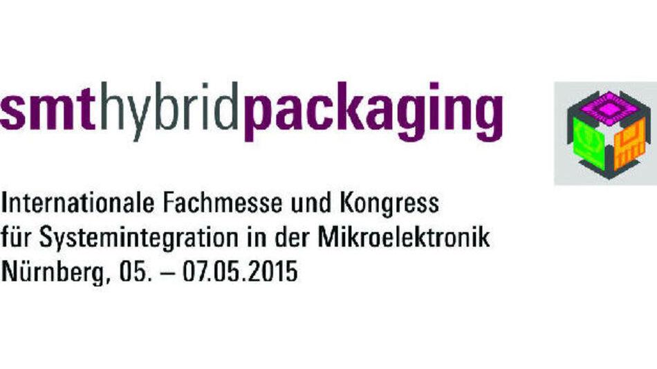 Die SMT Hybrid Packaging 2015 findet Anfang Mai statt