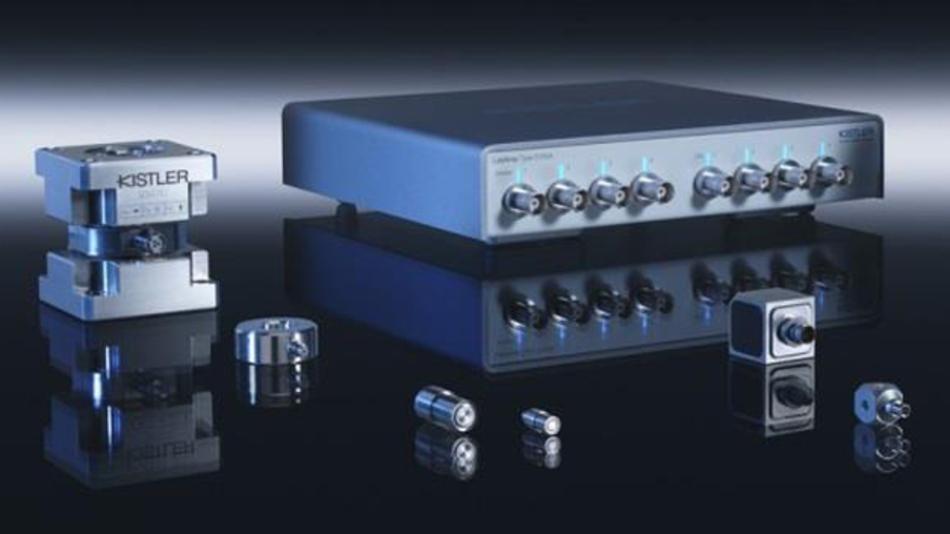 Kistler präsentiert auf der Sensor+Test Sensoren und Messlösungen.