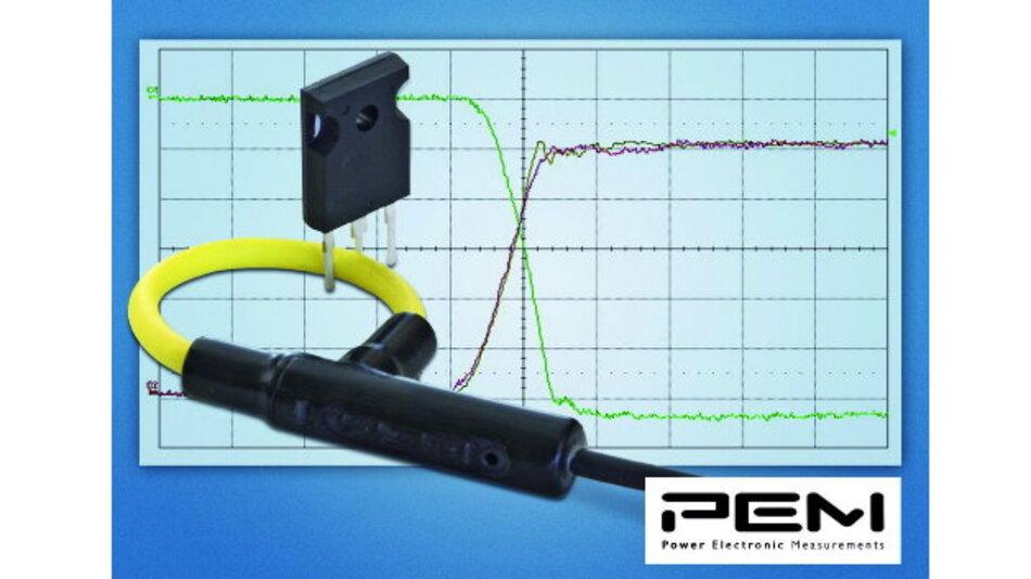 Die Rogowski-Stromtastköpfe können Stromflanken von 100kA/µs verarbeiten.