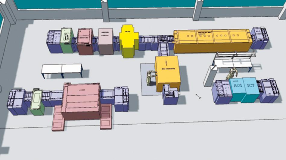 Fertigung der MID-Tronic in Wiesau in der Ausbaustufe 2