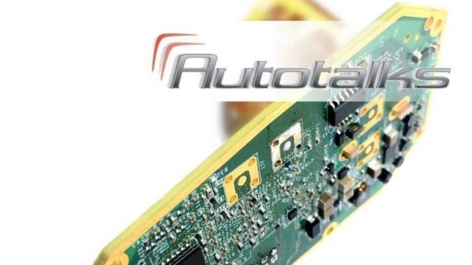 Kommt ohne zusätzliche CPU aus: Audis V2X-Antenne.