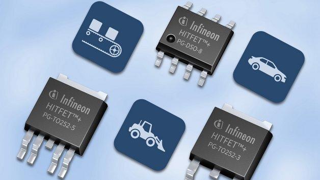 Low-Side-Schalter HITFET+ von Infineon.