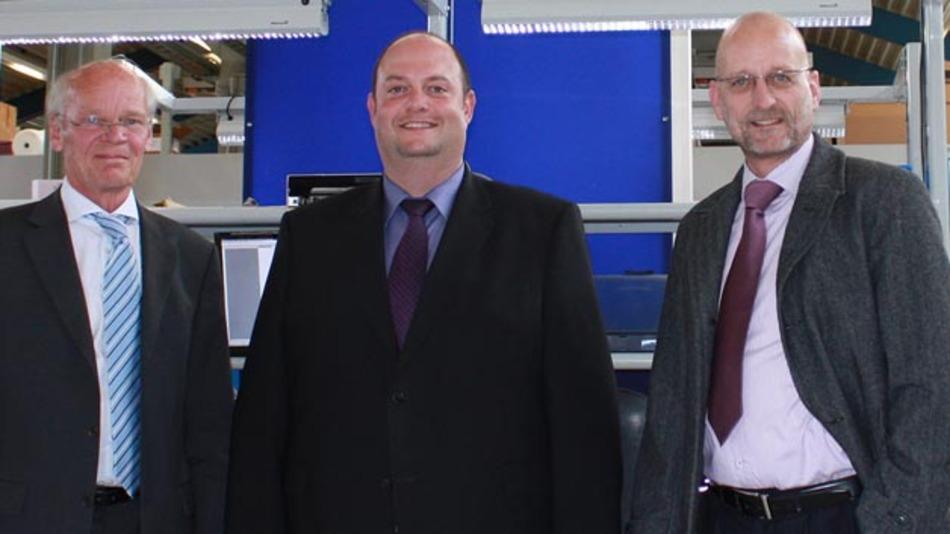 Die InoNet-Geschäftsführer Michael Schmohl, Ioannis Armenis und Ralph Ostertag (v.l.n.r.).