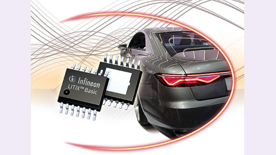 Anspruchsvolle LED-Beleuchtung im Auto