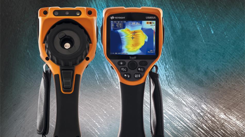 Die Wärmebildkameras U6855A von Keysight Technologies.