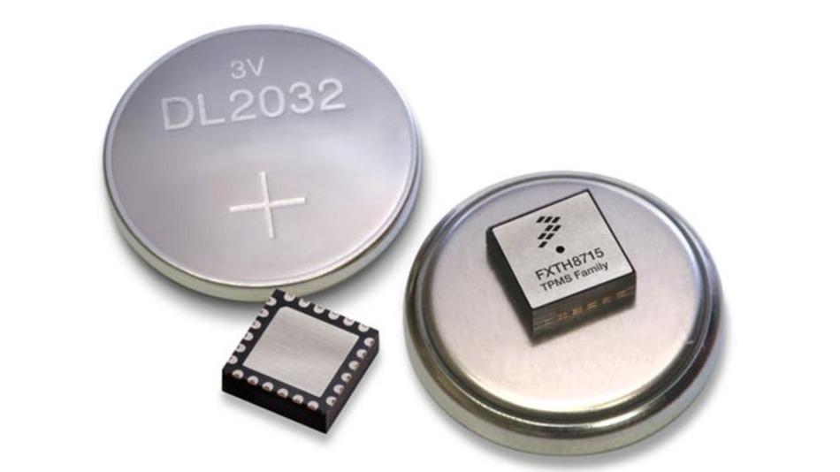 Reifendruckkontrollsystemserie FXTH8715 von Freescale