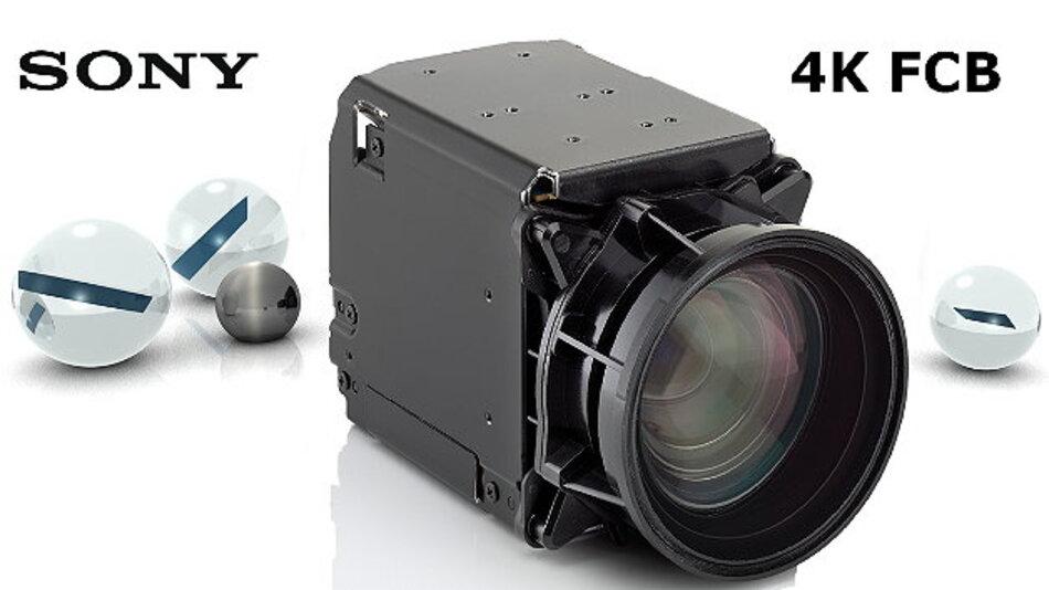 Das 4K-Zoomkameramodul FCB-ER8300 von Sony