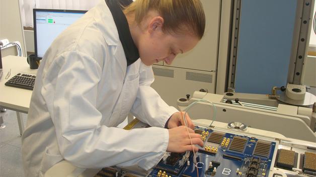 Mit dem Pin Scale SL können unter anderem ultraschnelle serielle Schnittstellen getestet werden.