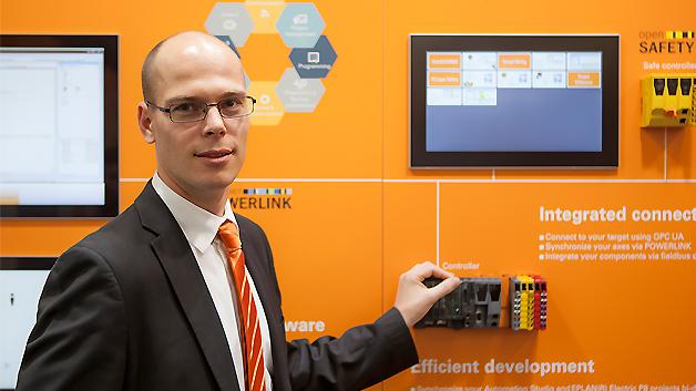 """""""Wir sehen keine Konkurrenz zwischen Powerlink und TSN!"""", so Martin Schönegger, Marketing-Manager bei B&R."""