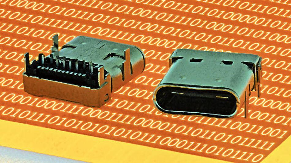 USB 3.1 Typ C Steckverbinder