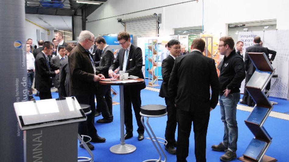 Rund 400 Gäste und 20 Aussteller nahmen an den Scheugenpflug Technologietagen am 22. und 23. April 2015 teil.