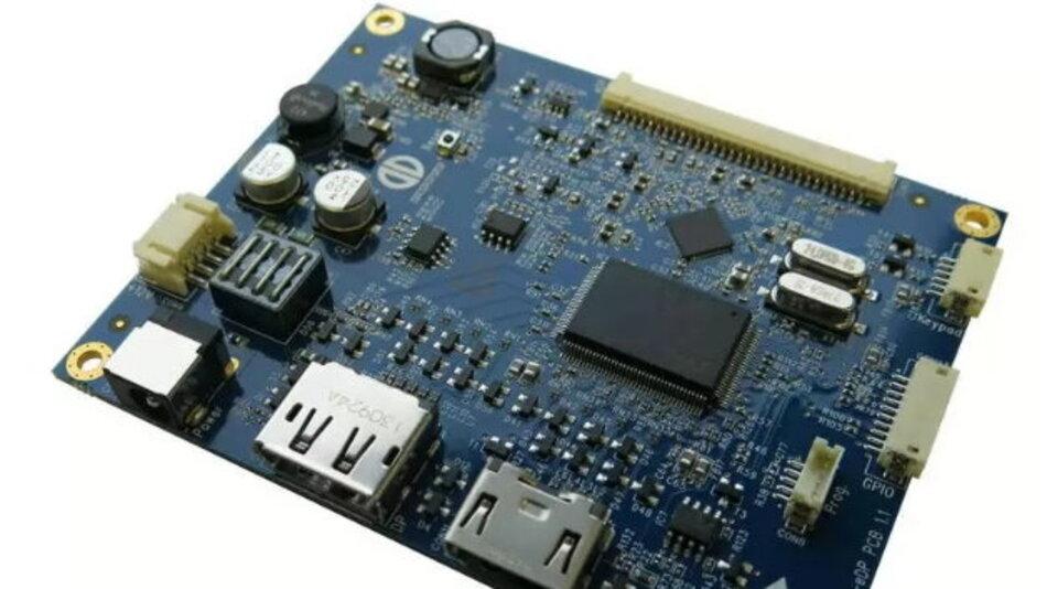 Distecs TFT-Controllerboard PrismaECO-eDP mit DisplayPort steuert momentan TFT-Displays in einer Auflösung bis WUXGA (1920 x 1200 Pixel) an.