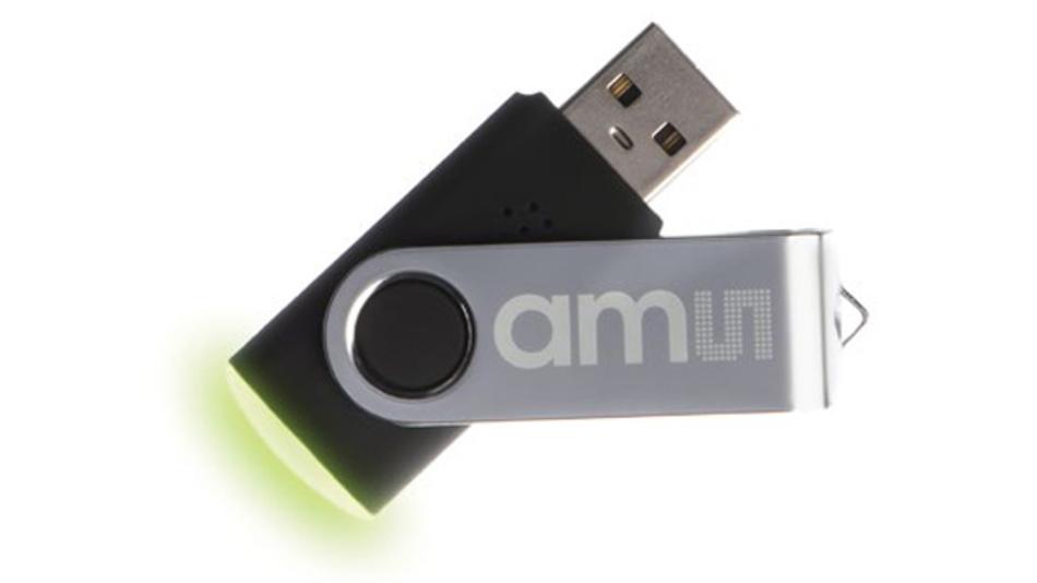 Der iAQ USB signalisiert über drei LEDs nach dem Ampelprinzip die Luftqualität beispielsweise im Büro.