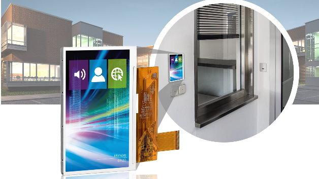 Bei MSC Technologies ist Evervisions langzeitverfügbare 5-Zoll-TFT-Modul-Familie VGG804821-6UFLWx erhältlich, die sich auch für den Außeneinsatz eignet.