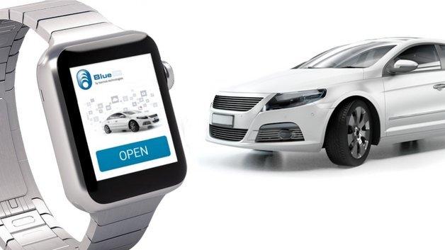 Smartwatch statt Autoschlüssel: Auch so lassen sich Türen öffnen.