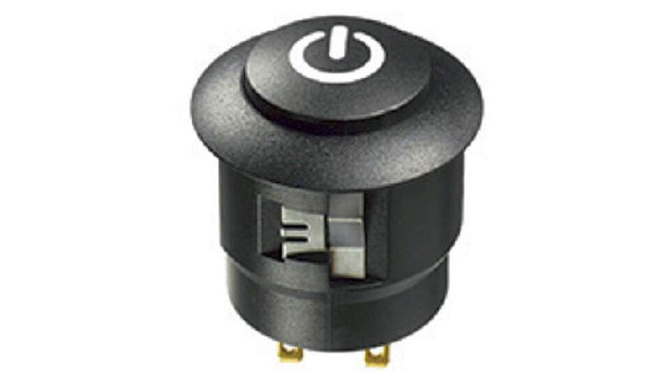 Beleuchtete Drucktaster und -schalter