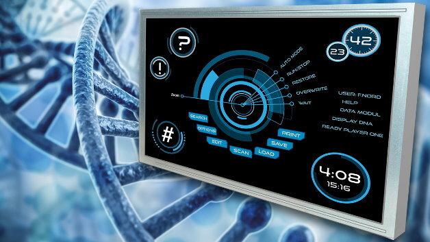 Kyoceras industrielles 12,1-Zoll-TFT-Display TFTTCG121WXLPAPNN-AN20 (Vertrieb: Data Modul) gibt es im zeitgemäßen Seitenverhältnis von 16:10.