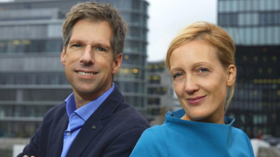 Sabine Rings (r. ) und Jørn Rings sind Geschäftsführer des Düsseldorfer Innovationsspezialisten NEU – Gesellschaft für Innovation mbH. Sie begleiten mittelständische Unternehmen im Bereich der Ideenfindung und Innovationskultur.