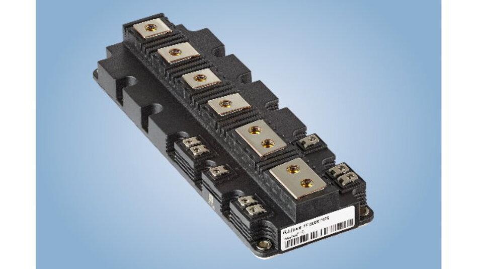 Die Integration der »IGBT5«-Chips und der Aufbau- und Verbindungstechnologie .XT in die »PrimePACK«-Module bietet Systementwicklern neue Freiheitsgrade beim Design.