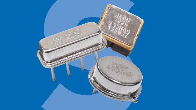 Für Frequenzen von 433,92 MHz und einer Bandbreite von 75 kHz eignen sich die neuen SAW-Resonatoren »ISSRTO39«, »ISSRF11«und »ISSRDCC6C«.