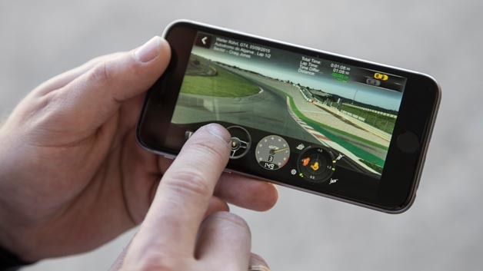 On-Board Fahraufzeichnung mit der Porsche Track Precision App