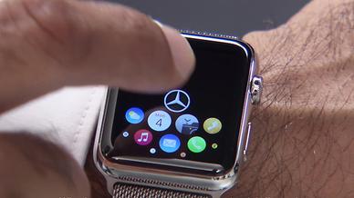 Navigation über die MB Companion App auf der Apple Watch