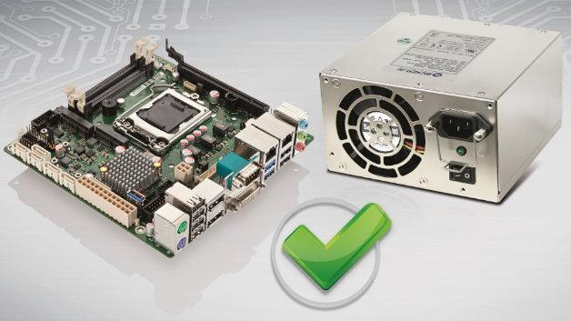 Bicker Elektronik bietet mit seinem »Power+Board«-Programm Labor geprüfte Netzteile in Verbindung mit ausgewählten Mainboards an.