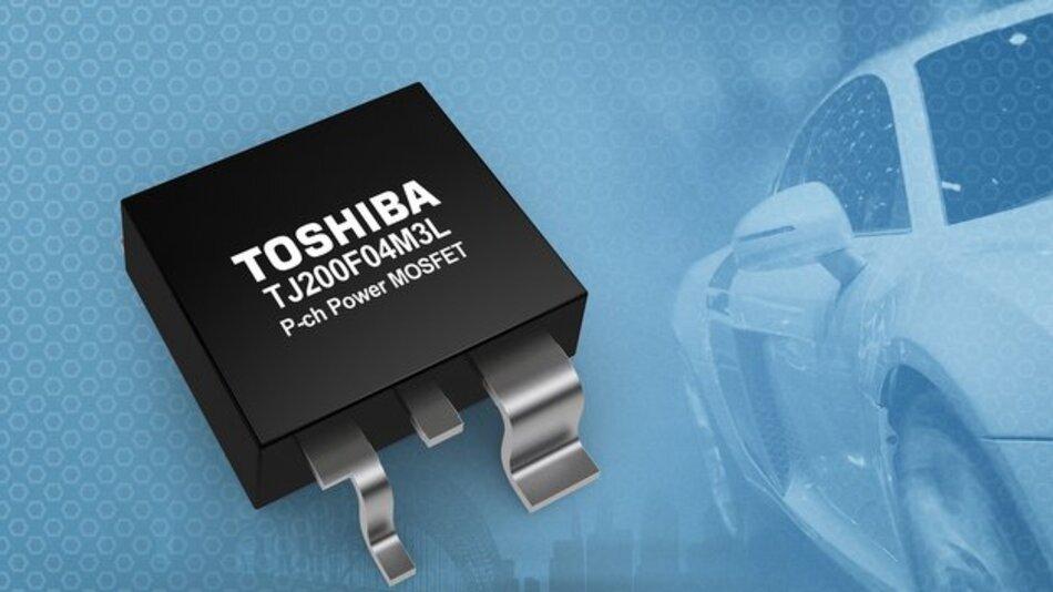 Leistungs-MOSFET TJ200F04M3L von Toshiba.