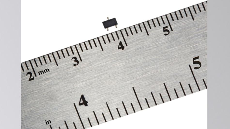 Bild 1: Der hochempfindliche AMR-Sensor von Honeywell verbraucht nur 360 nA