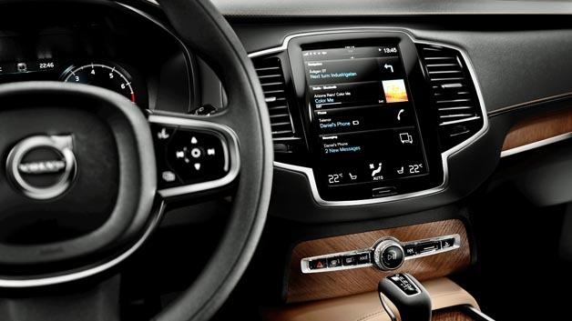 MOST150-Technologie kommt ab sofort im Volvo XC90 zum Einsatz.