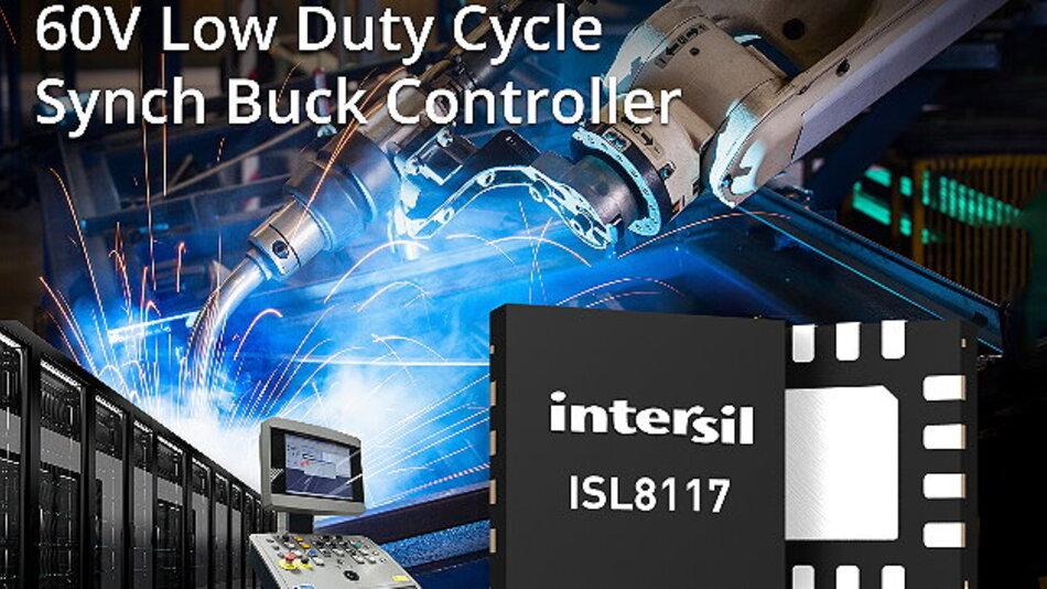 Intersils synchroner 60V-Abwärtsregler vereinfacht das Stromversorgungsdesign.